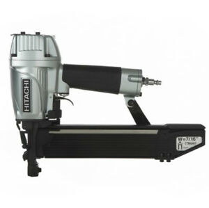 Hitachi N5008ac2 Pneumatic Construction Stapler 16 Gauge 7 16