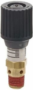 Control Devices 1 4 Brass Variable Pressure Relief Valve 0 100 Psi Adjustable