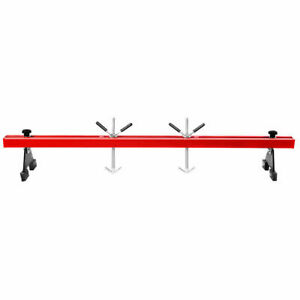 Engine Load Leveler 1100lbs Capacity Support Bar Transmission W Dual Hook