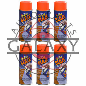 Performix 11218 Plasti Dip Blaze Orange X6 11 Oz Spray Can