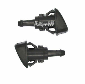 2 X Windshield Washer Nozzle Wiper Sprayer For Chrysler 300 Dodge Charger Magnum