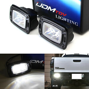 Flush Mount 10w Led Backup Or Driving Pod Lights For Truck Jeep Off road spot