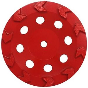 7 Inch Arrow Segment Cup Wheel