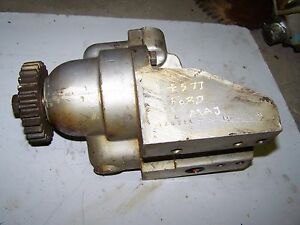 Fordson Super Major Hydraulic Pump 81810156