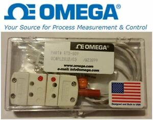 Brand New Omega Rtd 809 Encapsulated Temperature Sensor Probe Free Shipping