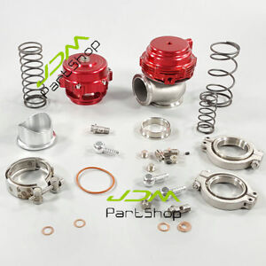 44mm Turbo Mvr44 Water Cold Wastegate 44mm V Band Red 50mm Blow Off Valve Q50