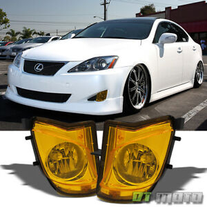 For 2006 2010 Lexus Is250 Is350 Bumper Fog Lights Driving Lamps Left right 06 10