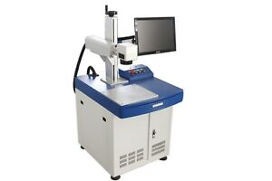 20w Fiber Laser Marking Machine Low Price Usb Interface High Speed Quality New