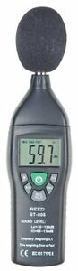 Reed Instruments St 805 Mini Sound Level Meter With Case