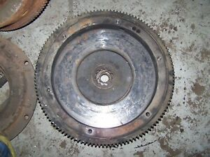 Farmall Super M Engine Flywheel W Ring Gear 356995r