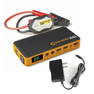 1000a Peak Portable Car Jump Starter Battery Booster Charger Phone Power Bank