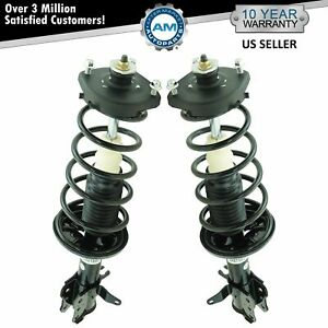 Rear Complete Quick Loaded Strut Spring Assembly Kit Pair For Protege5 New