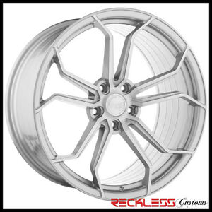 19 Avant Garde M632 Wheels Silver Concave Forged Rims Fits Honda Accord Coupe