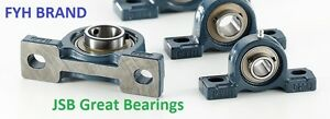Fyh Brand Ucp211 32 Two Bolt Flange Mount 2 Pillow Block Bearings Ucp 211
