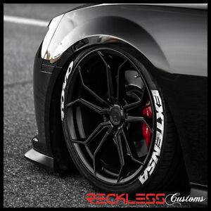 19 Avant Garde M632 Wheels Black Concave Forged Rims Fits Ford Mustang Gt