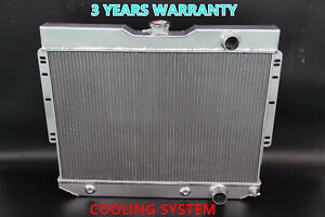 New 3 Rows Aluminum Radiator 59 63 Chevy Impala 1960 1965 Chevy Biscayne