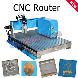 Mini Desktop Hq 800w Cnc Router Cutting Engraving Drilling Milling 300x400mm