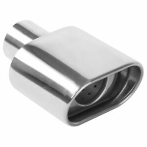 Magnaflow 35175 Stainless Steel Weld On Single Exhaust Tip 2 25 Inlet Dia
