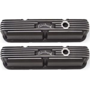 Edelbrock 41763 Classic Valve Covers 3 3 4 For Chrysler 318 360 V8 la Series