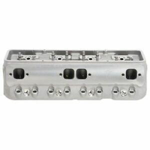 Edelbrock 77579 Small Block Chevy Victor Jr 23 Degree Cylinder Head 302 400ci