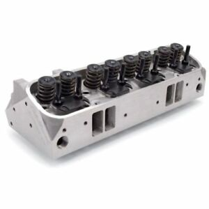 Edelbrock 60599 Performer 72cc Rpm Cylinder Head Complete Single For Pontiac
