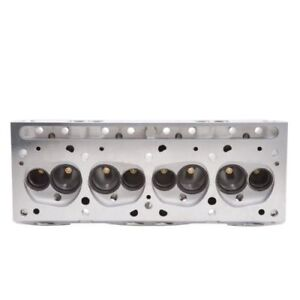 Edelbrock 60589 Performer 72cc Rpm Cylinder Head Bore Single For Pontiac