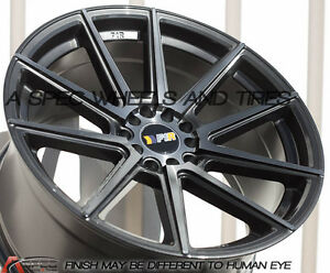 18x9 5 38 F1r F27 5x114 3 Gun Metal Wheels Concave With Shipping To Pr