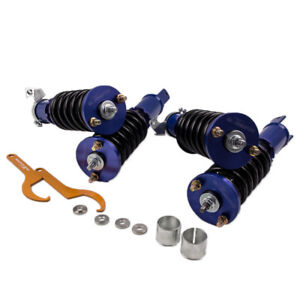 Full Assembly Coilovers For Honda Civic Del Sol 1993 1994 1995 1996 1997 Blue