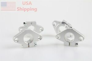 12mm Shf12 Linear Shaft Support For Xyz Table Cnc Router Mill 4 Pcs