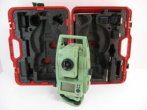 Leica Tcr403 3 Total Station Only For Surveying One Month Warranty