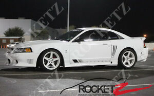 99 04 Ford Mustang Saleen S Style Side Skirts Steps Usa Canada