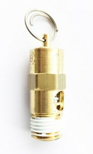 American Made 1 4 Npt Air Compressor Tank Safety Release Pop Off Valve 135 Psi