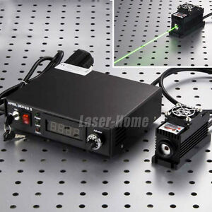 515nm 520nm 100mw Green Laser Dot Module ttl analog tec adjust Digital Power
