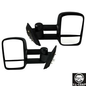 For Gmc chevrolet Driver And Passenger Pair Set Door Mirror New