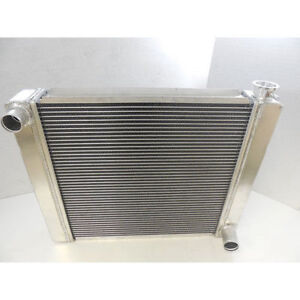 19 X 27 New Aluminum Gm Race Radiator Street High Performance Chevrolet Chevy