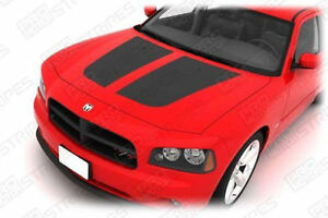 Dodge Charger Hood Graphic Accent Stripes Decals 2006 2007 2008 2009 2010