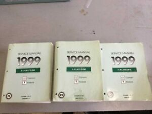1999 Chevrolet Camaro Dealership Service Manuals Manual F Body