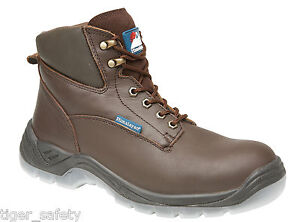 Himalayan 5053 S3 Src Brown Leather Steel Toe Cap Hiker Safety Boots Work Boot