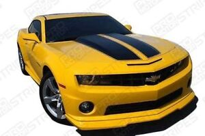 Chevrolet Camaro Rally Sport Stripes Hood Trunk Decals 2010 2011 2012 2013