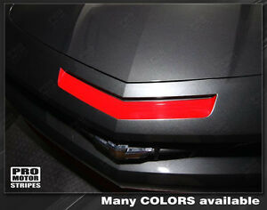Chevrolet Camaro Ss Mail Slot Vent Insert Stripe Decal 2010 2011 2012 2013