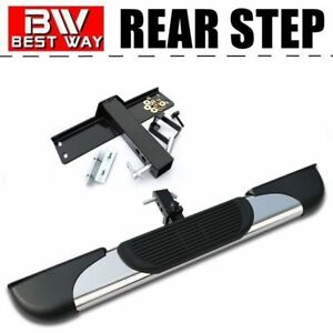 Fashion Universal 5 Inch S S Hitch Step Bumper Guard For Cabs With 2 Receiver