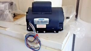Leeson Electric Motor 1 5 Hp 1725 Rpm 60hz 115 208 230v free Shipping