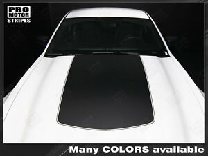 Ford Mustang Boss 302 Style Hood Stripe Decal 2010 2011 2012 2013 2014 Pro Motor