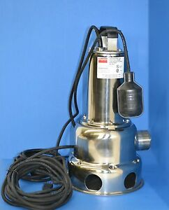 Dayton 1 2hp Submersible Sewer Effluent Pump 4ny21