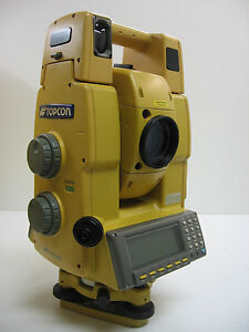 Topcon Gpt 8203a Robotic Total Station W Ranger 200c One Month Warranty