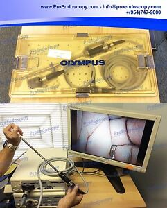 Olympus Otv s7 clv s40 a4801a a5398 Stryker 240 030 970 Video Laparoscopy Set