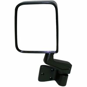 Mirror Driver Left Side New Lh Hand Jeep Wrangler 1987 1995 1997 2002 82201773