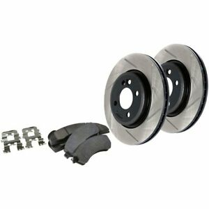 Stoptech 2 wheel Set Brake Disc And Pad Kits Front New For Subaru 977 47002f