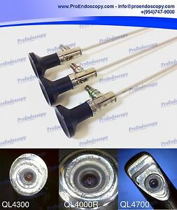 Linvatec Ql4000r ql4300 ql4700 Sinus Scopes Arthroscopy Set