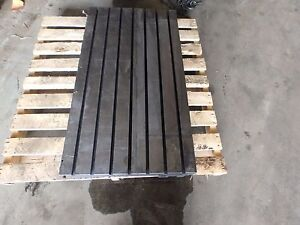 43 25 X 23 5 X 6 75 Steel Welding T slotted Table Cast Iron Layout_7 Slot